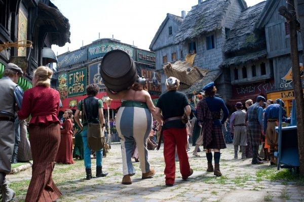 Asterix & Obelix bij de Britten (3D)
